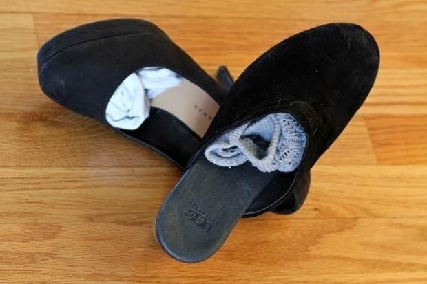 Трусы и носки отличны можно упаковать в носовую часть ботинок