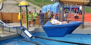 Парк развлечений в Вентспилсе