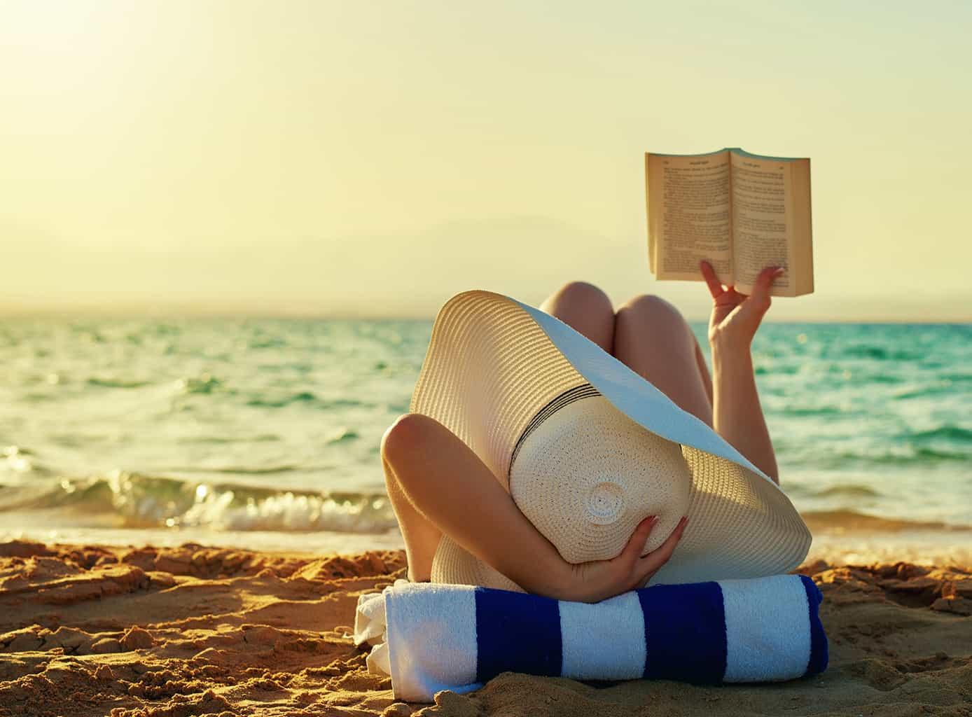 Чтение книг в отпуске