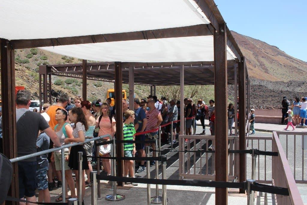 Fast Track на вулкане Тейде
