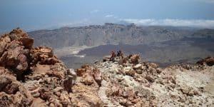 Вид с вершины Тейде
