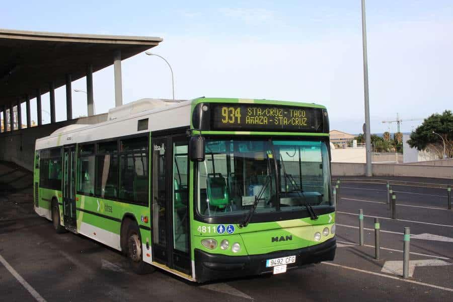 Рейсовые автобусы Titsa на Тенерифе