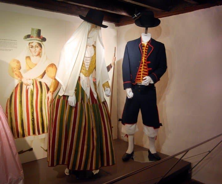 Национальная одежда прошлого