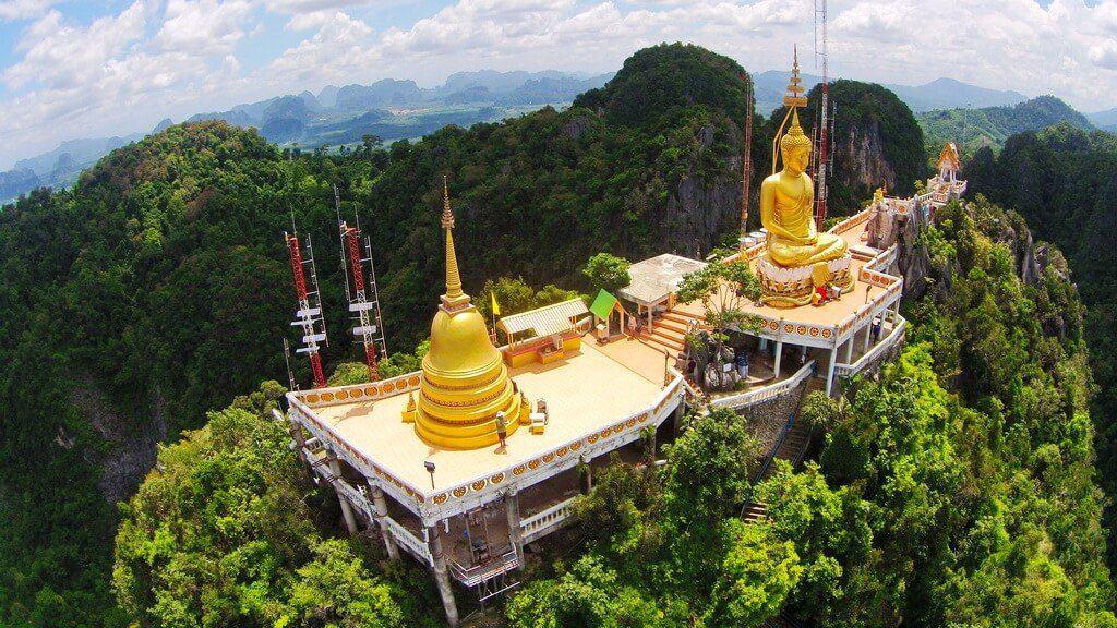 Комплекс тигриного храма с высоты