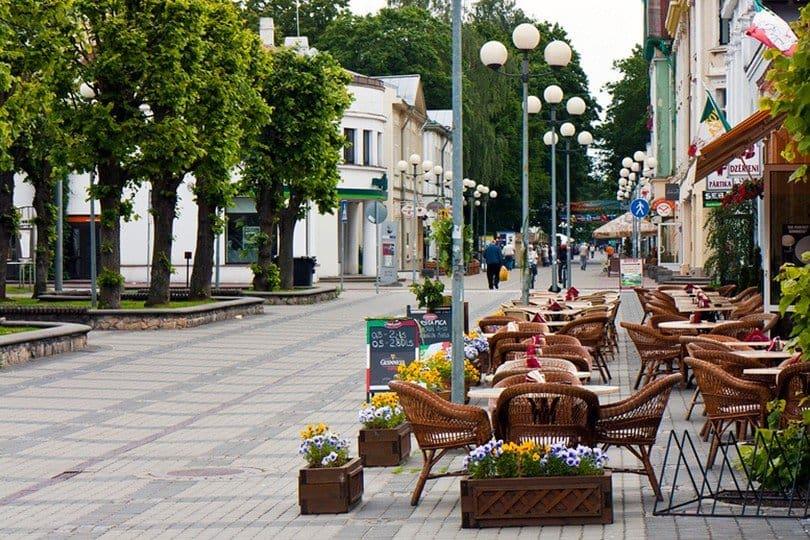 Пешеходая улица Юрмалы