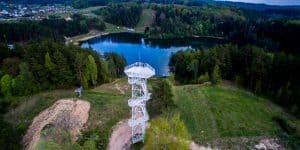 Игналинский район и смотровая башня