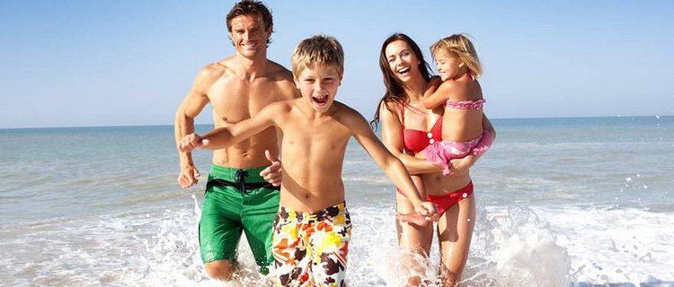 Семейный отдых на море