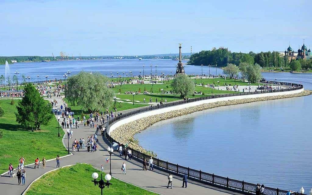 Набережная в Ярославле