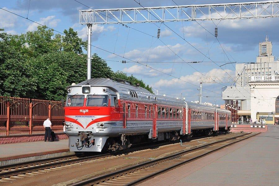 Поезд до Вильнюса