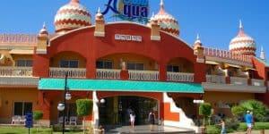 Главный вход в Aqua Blu Resort