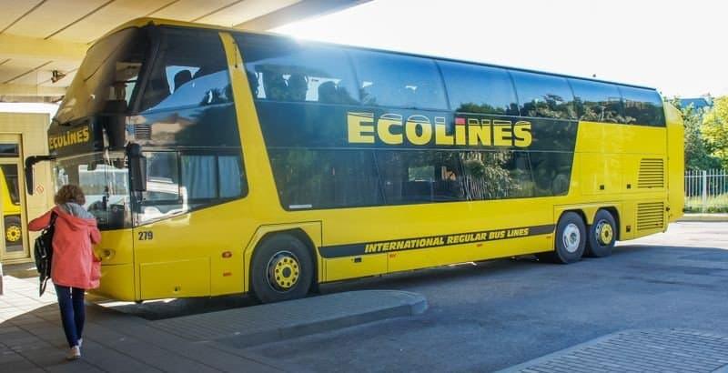 Автобус Минск-Вильнюс