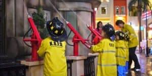 Освоение профессии пожарного