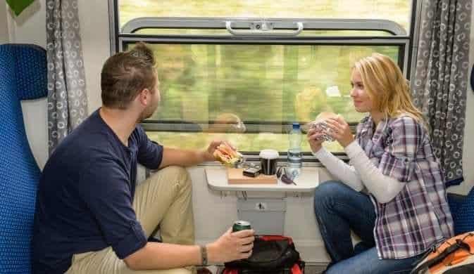Вещи в поезд