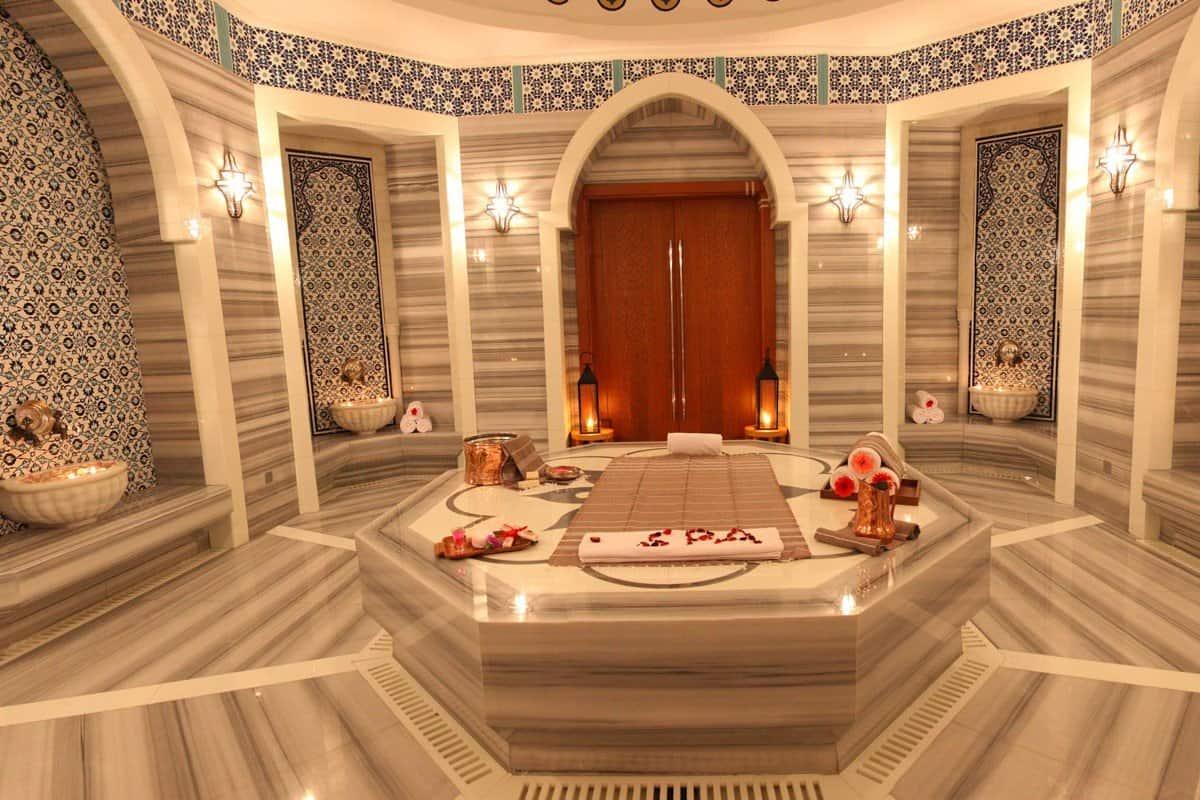 Главный зал турецкой бани хамам