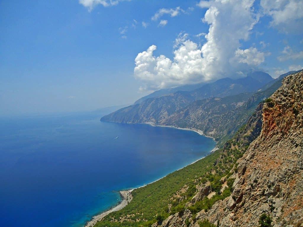 Крит панорамный вид