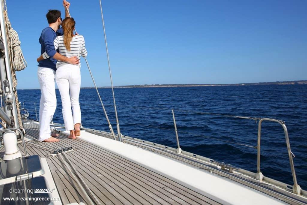 Романтическая прогулка на яхте (Крит)