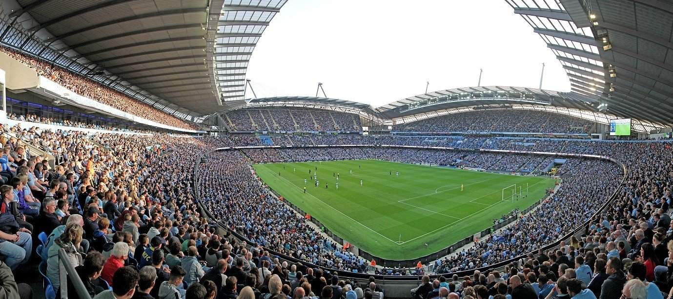 "Стадион ""Etihad"" в Манчестере"