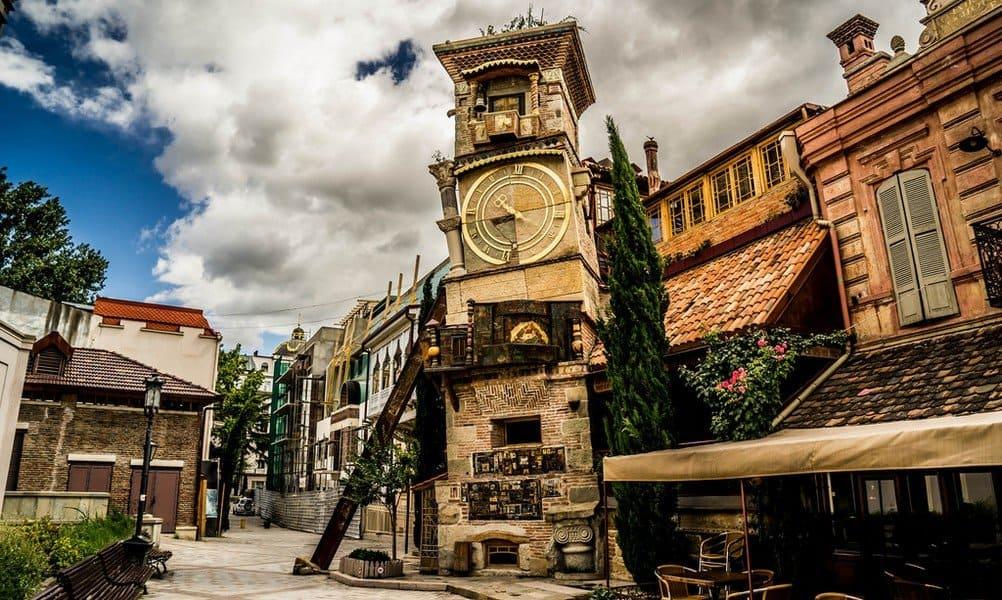 Пешком по грузинской столице