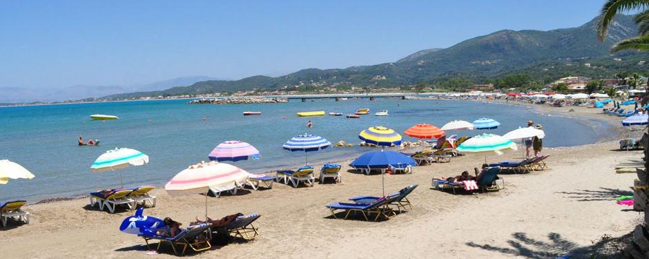 Пляж Рода на Корфу