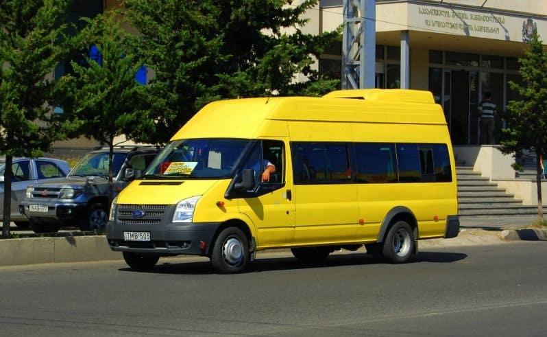 Маршрутка Тбилиси - Батуми