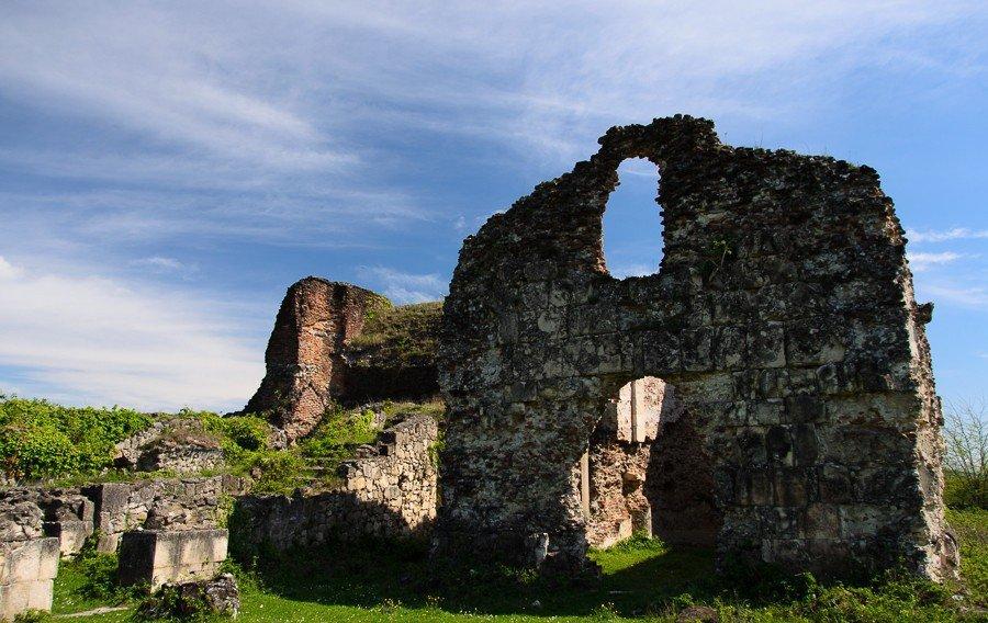 Руины Гегутского царского дворца