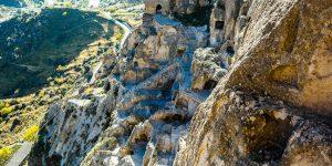 Вардзия - город в отвесной скале