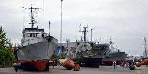 Экспозиция кораблей