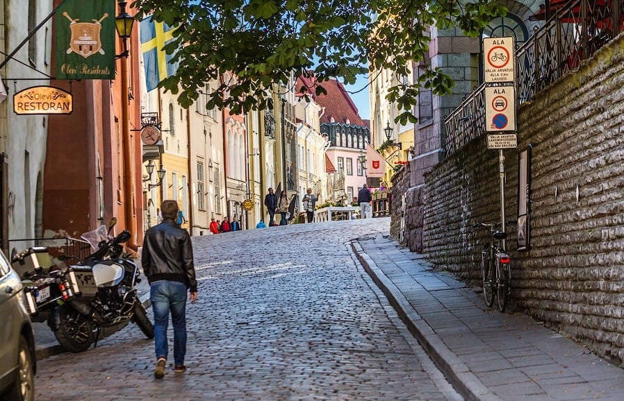 Прогулки по улочкам Таллина