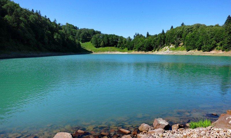 Зеленое озеро Аджарии