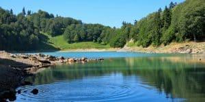 Вид озеро