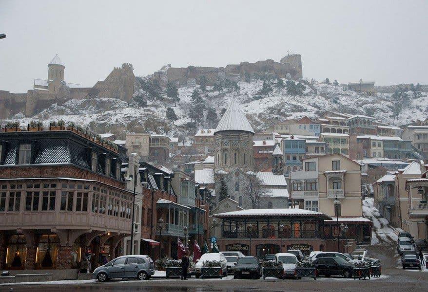 Тбилиси в конце зимы