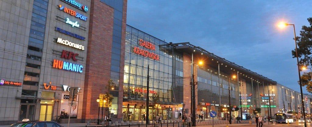 Торговый центр Galeria Krakowska