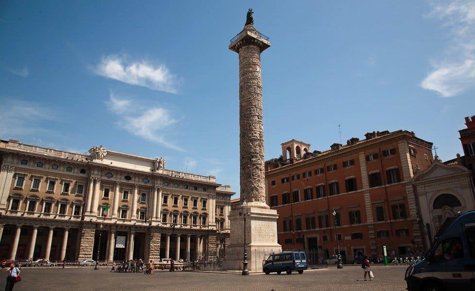 Площадь колонны