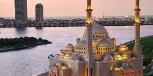 Мечеть вечером