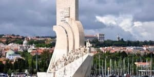 Памятник с моря