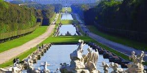Парк - Королевский дворец Неаполя