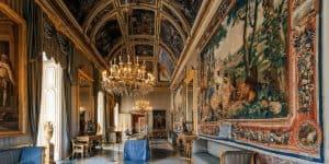 Внутренний зал - Королевский дворец Неаполя