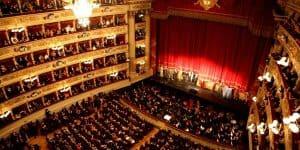 Сан Карло опера общий вид