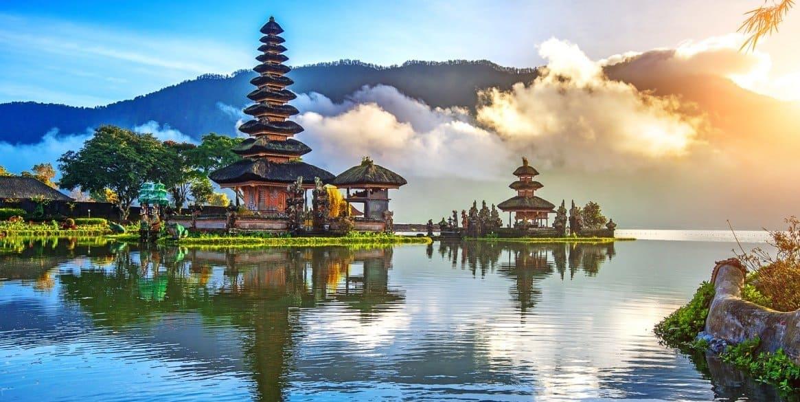Пейзажи Бали (Индонезия)