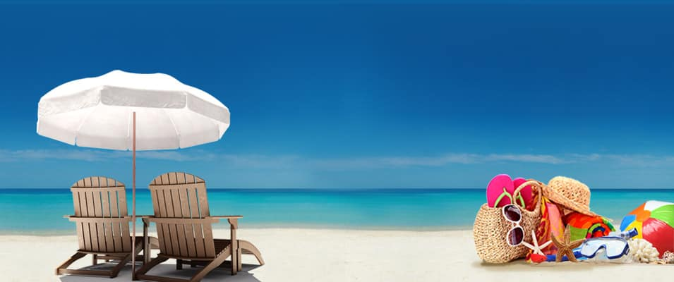 Море, пляж и солнце
