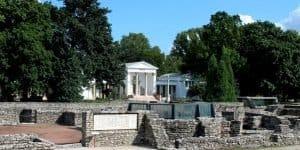 Территормя музея