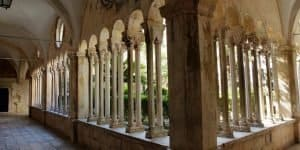 """Вид на внутренний дворик (здесь снимали сцены """"Игр престолов"""""""