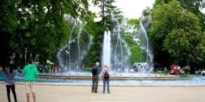 Прогулки у фонтана