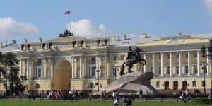 Сенатская Площадь м памятни Медному Всаднику