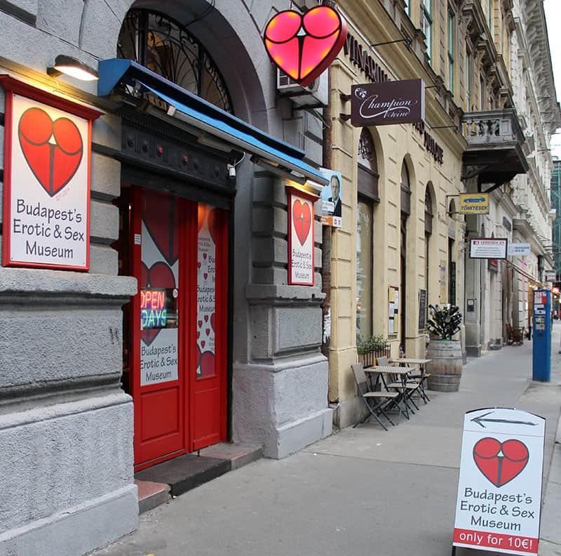 Музей эротики в Будапеште