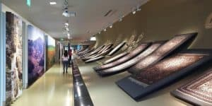 Экспозиция музея ковра