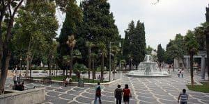 Прогулки по площади