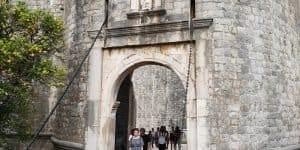 Древние ворота в старый город