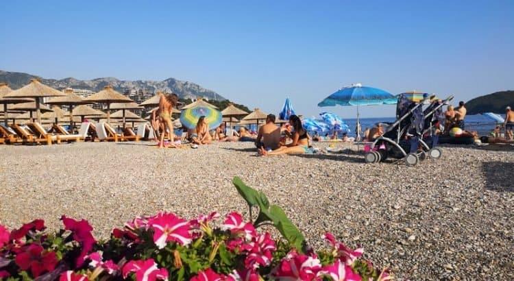 Пляж Будвы в Черногории