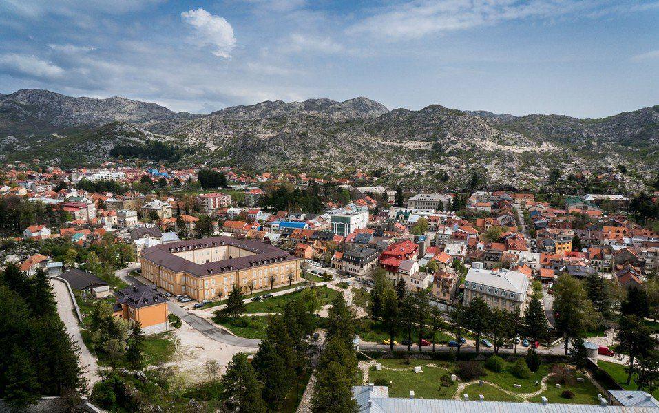 Цетине - город среди гор